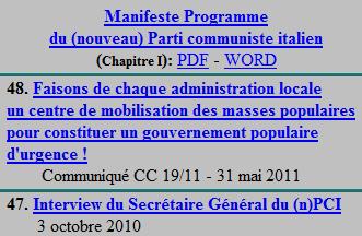 Édition en Langues Étrangères(nouveau)Parti Communiste Italien